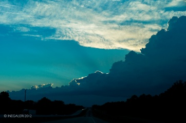 Battle of the Neches Memorial Day 38- Sky on Interstate 20