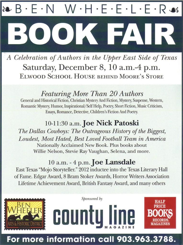 Ben Wheeler Book Fair 2012