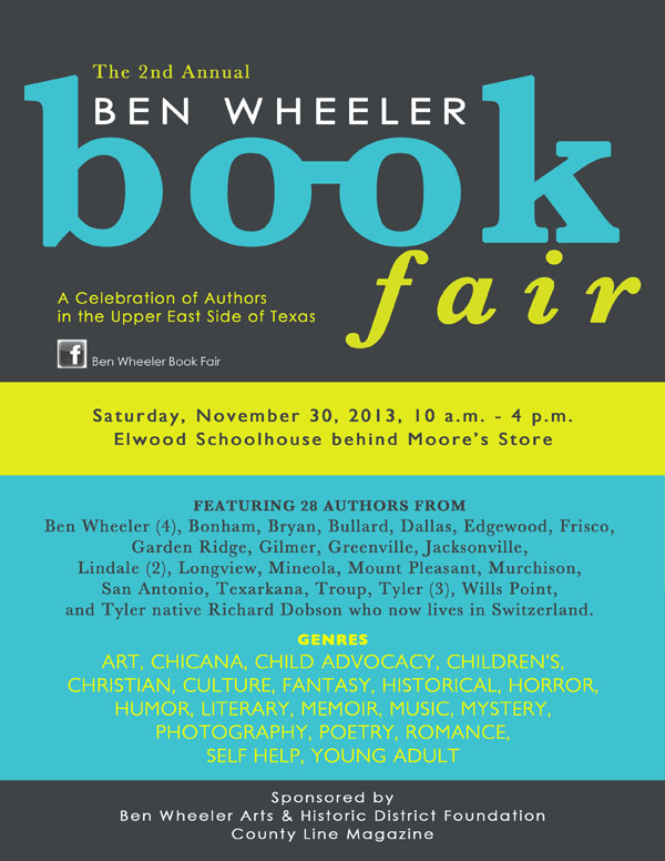 Ben Wheeler Book Fair 2013