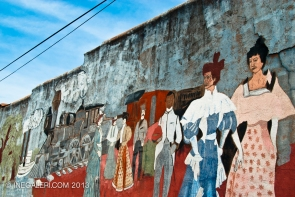 1992 Mercy's Mural, off S Johnson St, Mineola, Tx