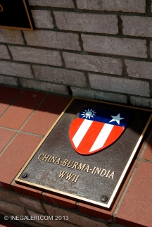 A memorial plaza at W Commerce St, Mineola, Tx