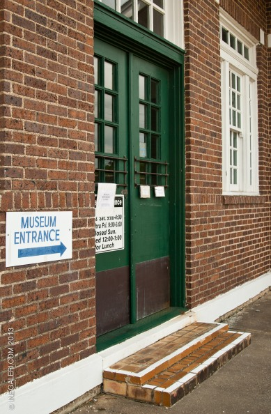 Entrance to the Depot Museum