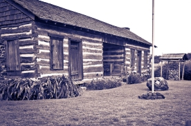 Will's Cabin where The founders of Wills Point first settled here.