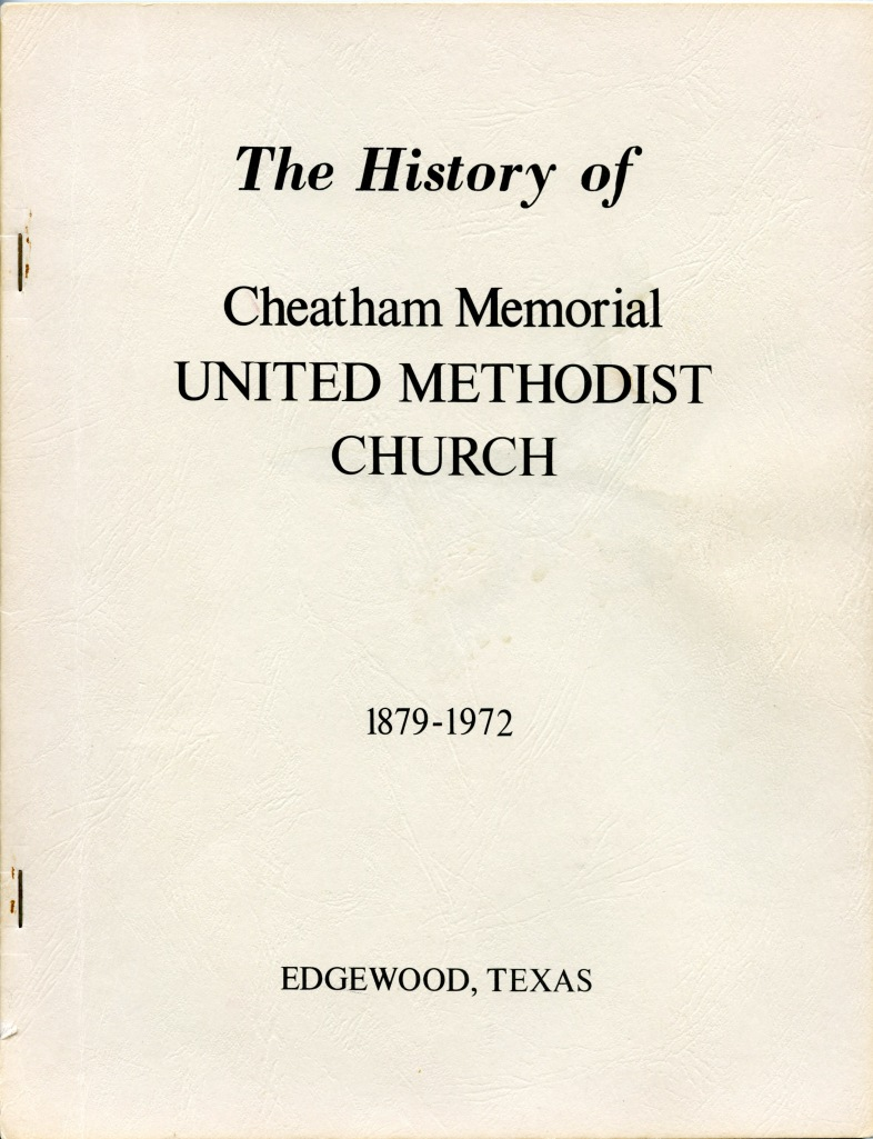 1972 Joe V. Clouse - The first church history book
