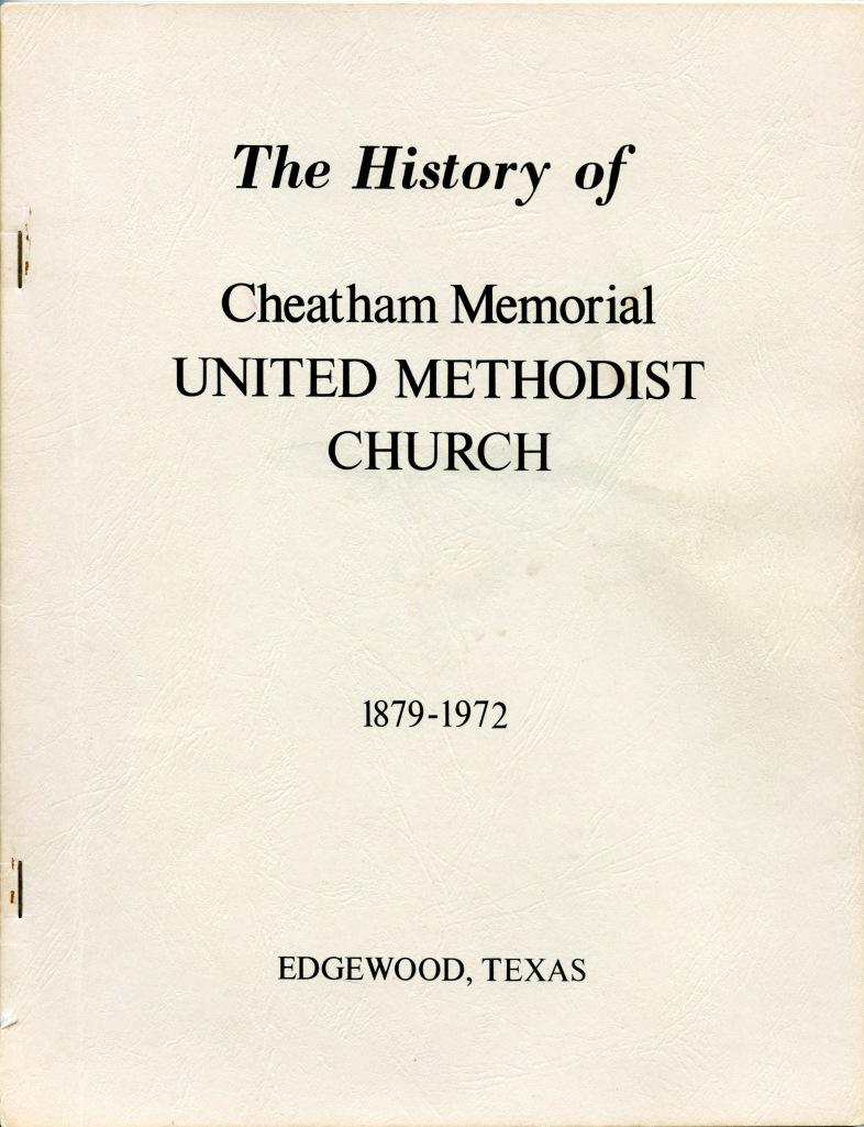 1972 Joe V. Clouse - The first church history book