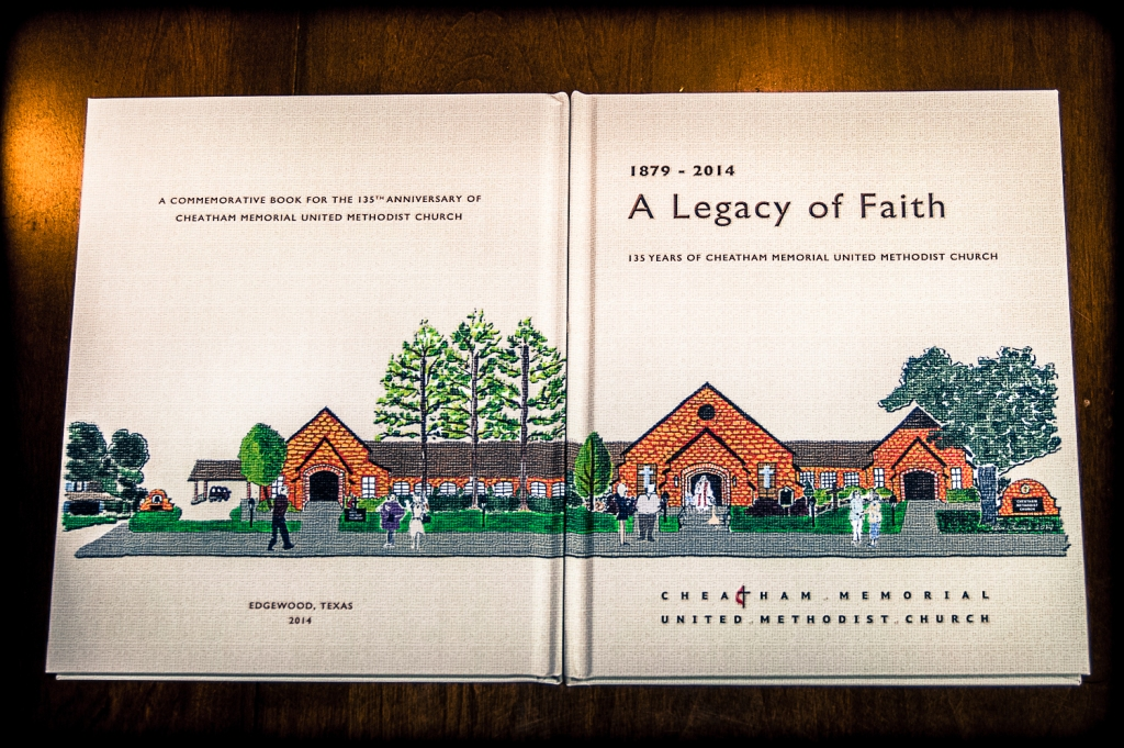 A Legacy of Faith - Front and Back cover