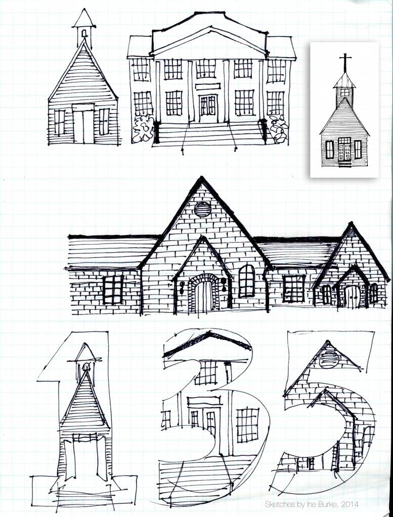 135 B Church Original Sketches IB