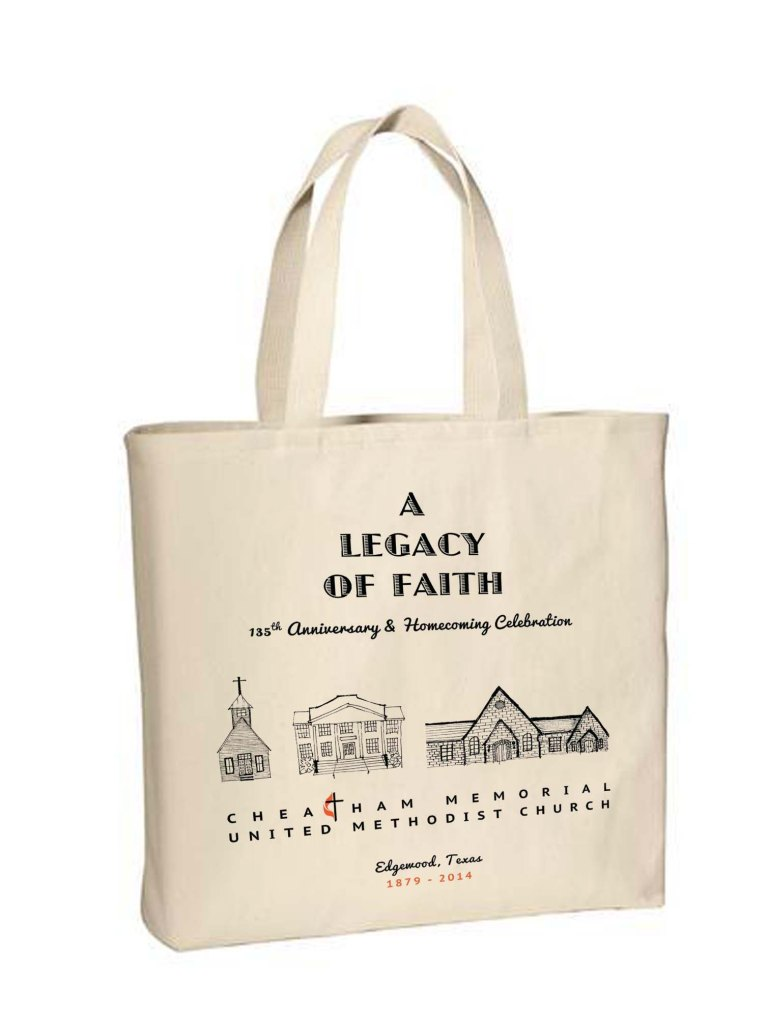 CMUMC 135th Anniversary Canvas Bag
