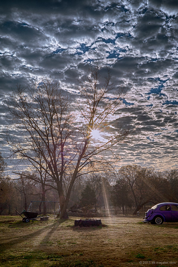 Altocumulus in Morning | Feb 2015-4