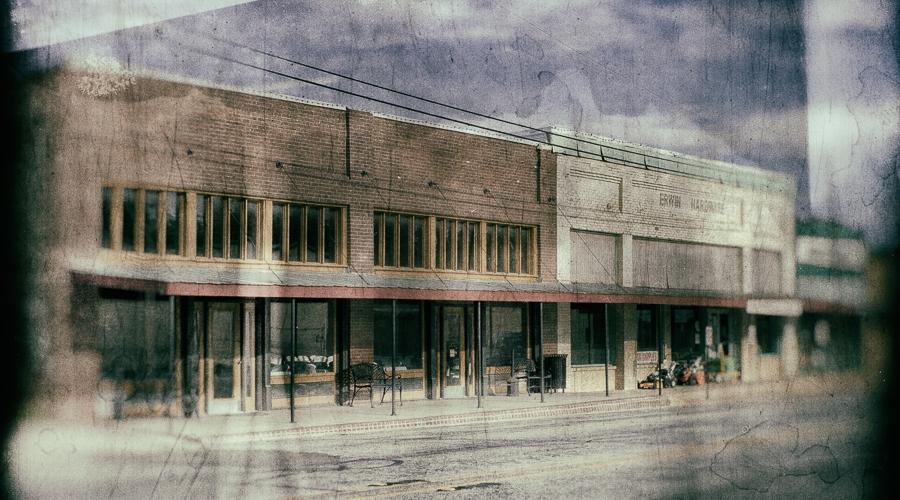 Old Downtown Edgewood Texas Inegaleri