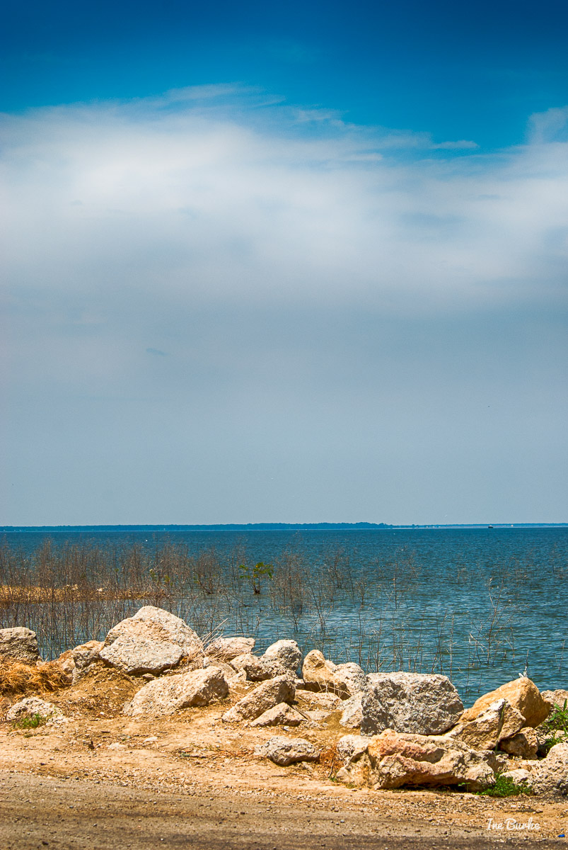 Lake Tawakoni by Iron Bridge Dam IB-2