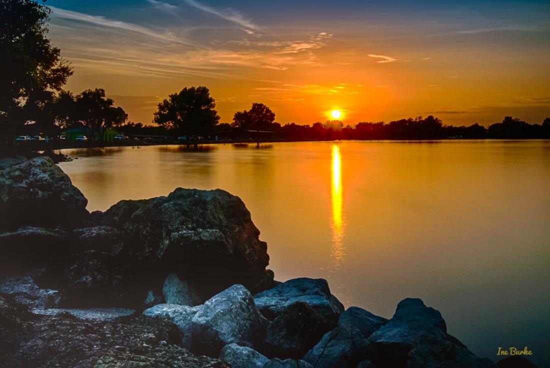 Labor Day Sunset at Lake Tawakoni 1