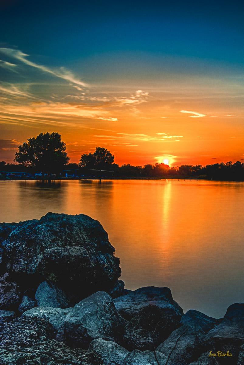 Labor Day Sunset at Lake Tawakoni 2