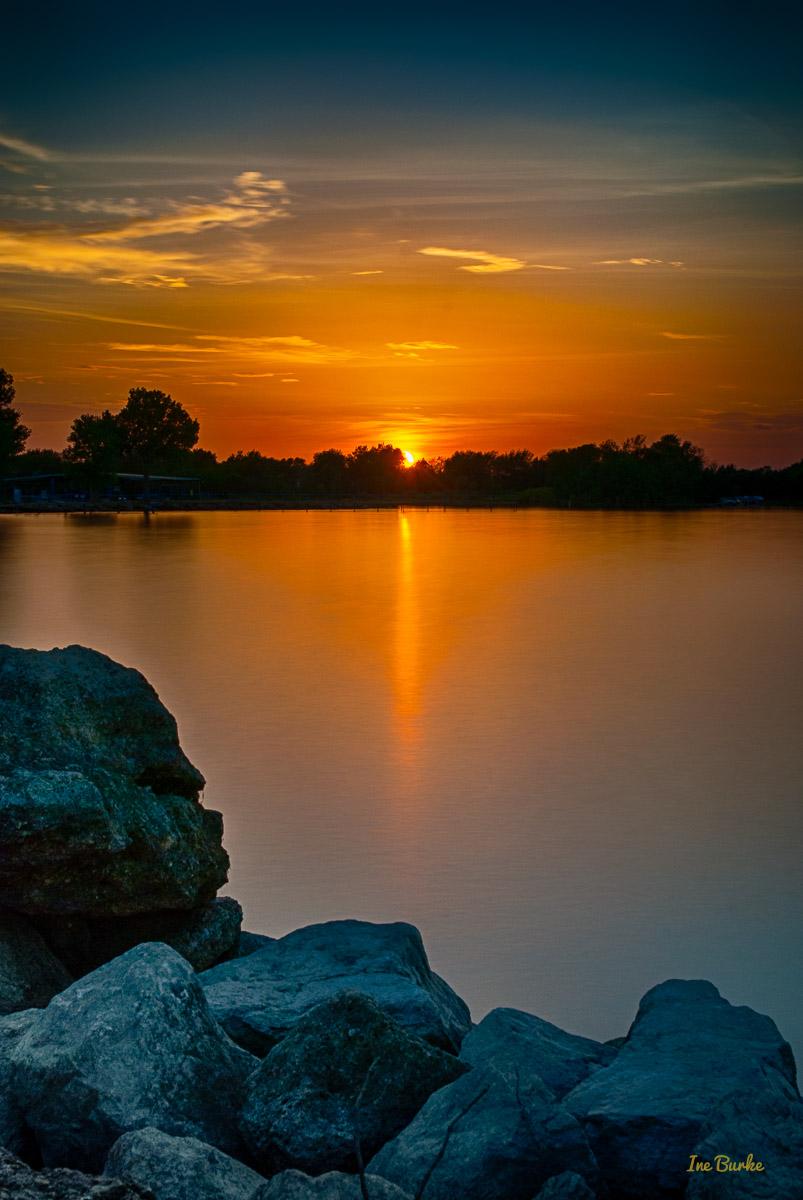 Labor Day Sunset at Lake Tawakoni 3