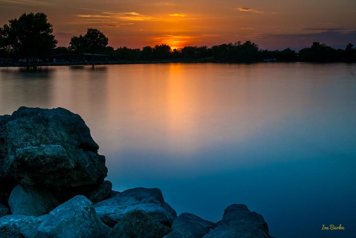 Labor Day Sunset at Lake Tawakoni 4